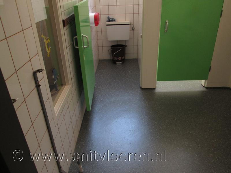 Vloeren sanitaire ruimten
