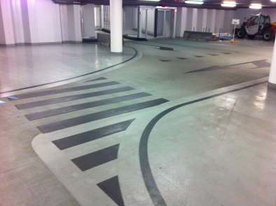 parkeergarage/smitvloeren
